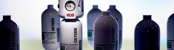 Various composite oxygen cylinders